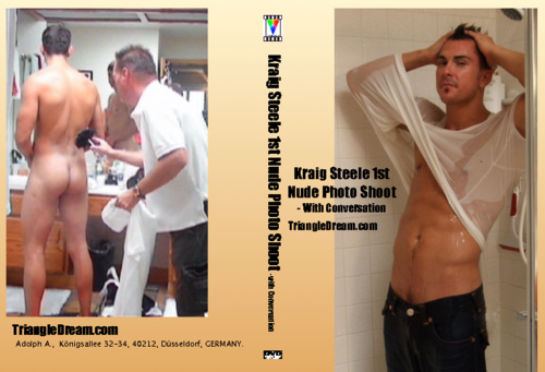 Kraig Steele 1st Nude Photo Shoot- with Conversation-gay-dvd