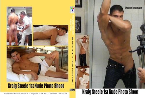 Kraig Steele 1st Nude Photo Shoot-gay-dvd