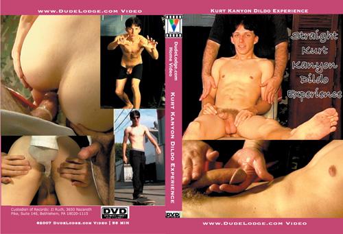 Kurt Kanyon Dildo Experience-gay-dvd