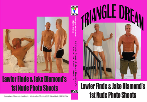 Lawler Finde & Jake Diamond's 1st Nude Photo Shoot-gay-dvd