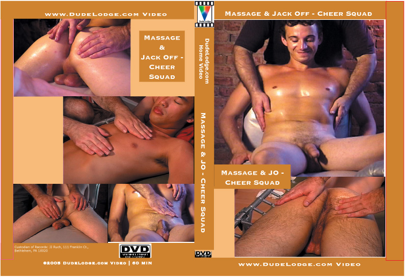 Massage & JO - Cheer Squad-gay-dvd