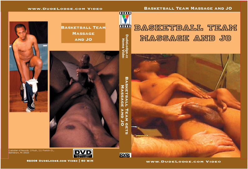 Massage & JO - The Basketball Team-gay-dvd
