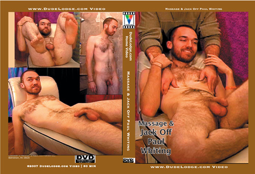 Massage & Jack Off Paul Whiting-gay-dvd