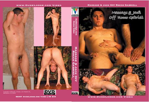 Massage & Jack Off Rocco Gabriell-gay-dvd