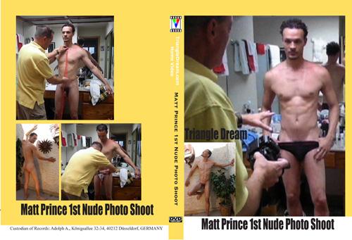 Matt Prince 1st Nude Photo Shoot-gay-dvd