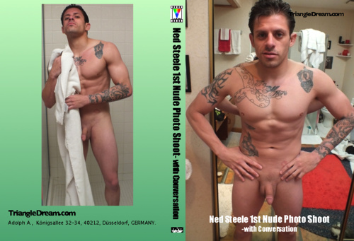Ned Steele 1st Nude Photo Shoot- with Conversation-gay-dvd