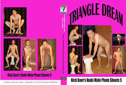 Nick Baer's Nude Male Photo Shoots 5-gay-dvd