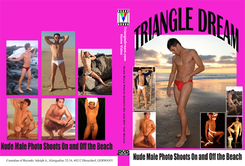 Nude Male Photo Shoots On and Off the Beach-gay-dvd