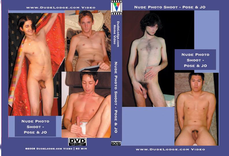 Nude Photo Shoot - Pose & JO-gay-dvd