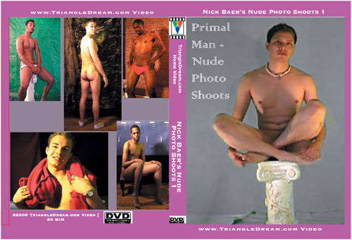 Primal Man - Nude Photo Shoots 1-gay-dvd
