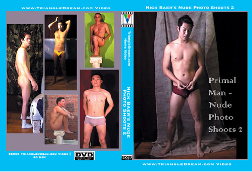 Primal Man - Nude Photo Shoots 2-gay-dvd