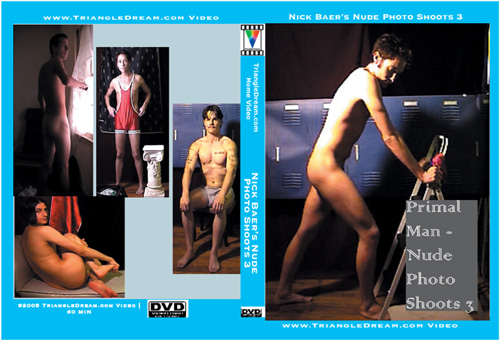 Primal Man - Nude Photo Shoots 3-gay-dvd
