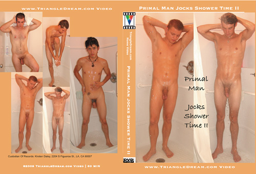 Primal Man Jocks Shower Time II-gay-dvd