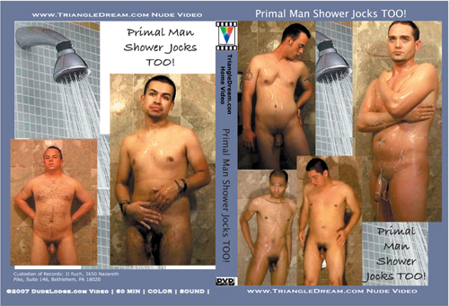 Primal Man Shower Jocks TOO-gay-dvd