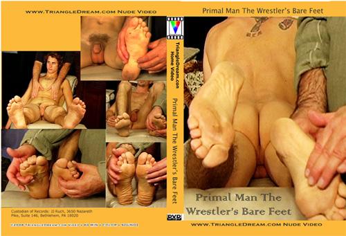 Primal Man The Wrestler's Bare Feet-gay-dvd