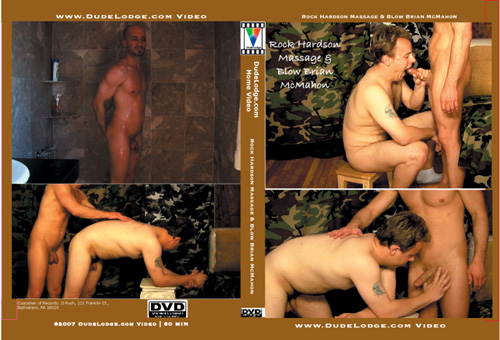 Rock Hardson Massage & Blow Brian McMahon-gay-dvd