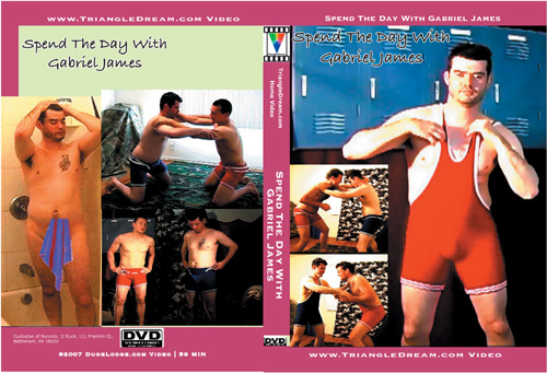 Spend The Day With Gabriel James-gay-dvd