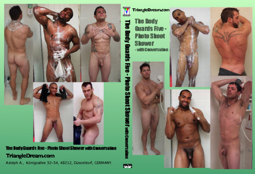 The Body Guards Five - Photo Shoot Shower- with Conversation-gay-dvd