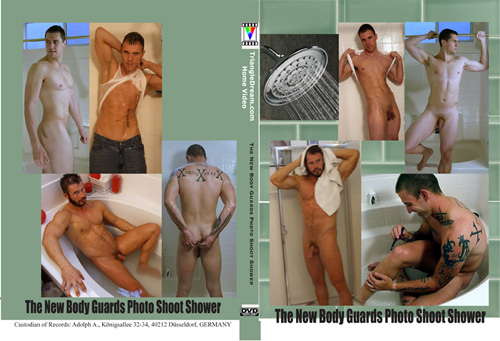 The New Body Guards Photo Shoot Shower-gay-dvd