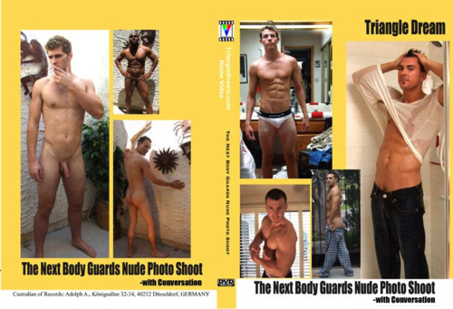 The Next Body Guards Nude Photo Shoot- with Conversation-gay-dvd