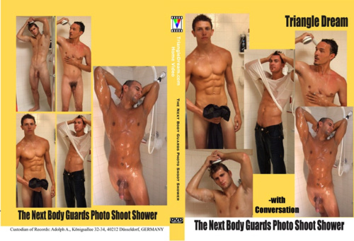 The Next Body Guards Photo Shoot Shower- with Conversation-gay-dvd