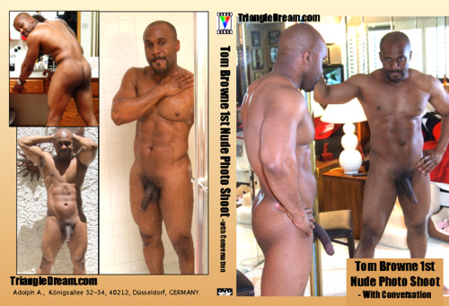 Tom Browne 1st Nude Photo Shoot- with Conversation-gay-dvd