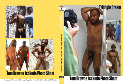 Tom Browne 1st Nude Photo Shoot-gay-dvd