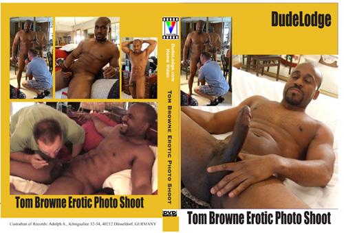Tom Browne Erotic Photo Shoot-gay-dvd