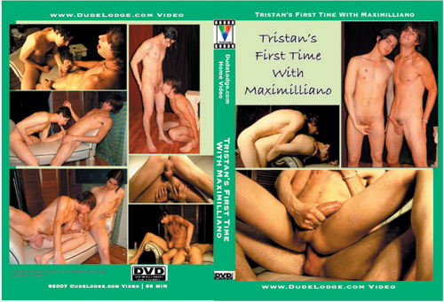 Tristan First Time With Maximilliano-gay-dvd
