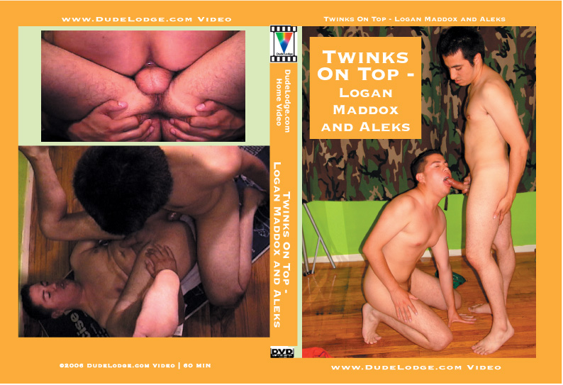Twinks On Top - Logan Maddox and Aleks-gay-dvd