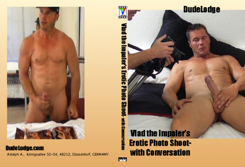 Vlad the Impaler's Erotic Photo Shoot- with Conversation-gay-dvd