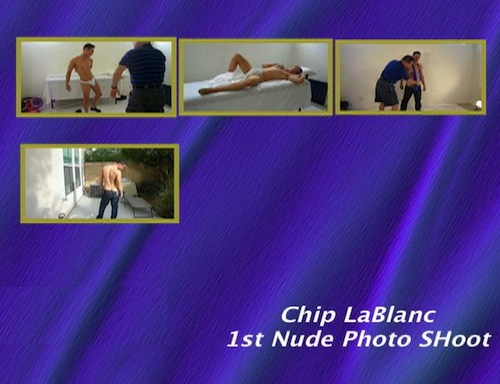 Chip-LaBlanc's-1st-Nude-Photo-Shoot--with-Conversation-gay-dvd