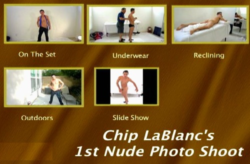Chip-LaBlanc's-1st-Nude-Photo-Shoot-gay-dvd