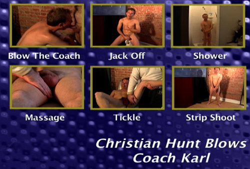 Christian-Hunt-Blows-Coach-Karl-gay-dvd
