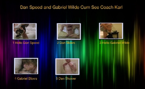 Dan-Speed-and-Gabriel-Wilde-Cum-See-Coach-Karl-gay-dvd