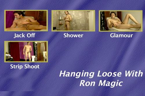 Hanging-Loose-With-Ron-Magic-gay-dvd