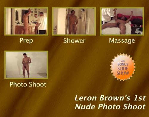 Leron-Brown's-1st-Nude-Photo-Shoot-gay-dvd