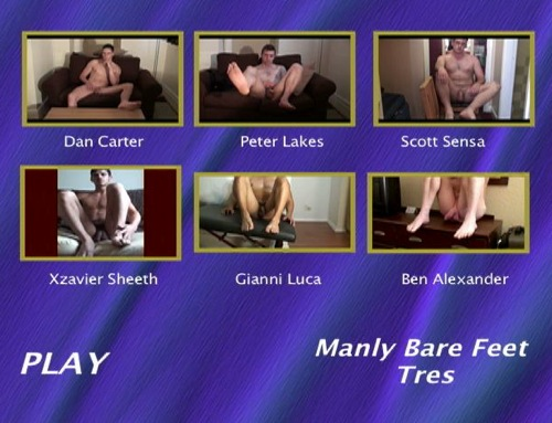 Manly-Bare-Feet-Tres-gay-dvd