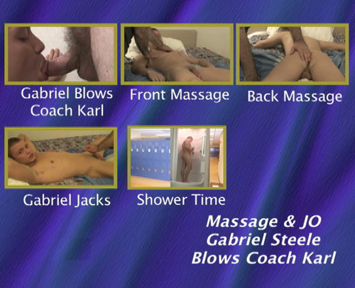Massage-&-JO-Gabriel-Steele-Blows-Coach-Karl-gay-dvd