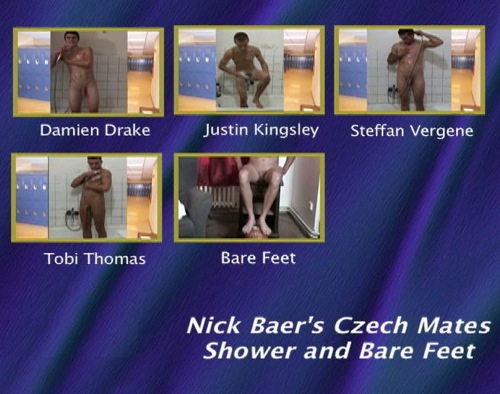 Nick-Baer's-Czech-Mates-Shower-and-Bare-Feet-gay-dvd