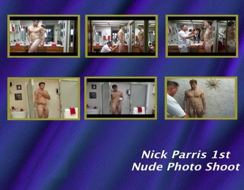 Nick-Parris-1st-Nude-Photo-Shoot--with-Conversation-gay-dvd