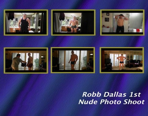 Robb-Dallas-1st-Nude-Photo-Shoot--with-Conversation-gay-dvd