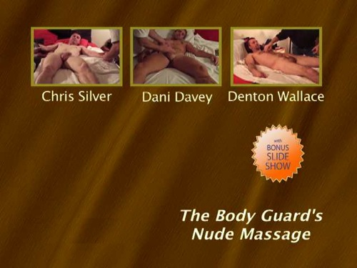 The-Body-Guard's-Nude-Massage-gay-dvd