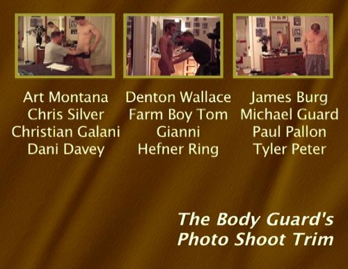 The-Body-Guards-Photo-Shoot-Trim-gay-dvd