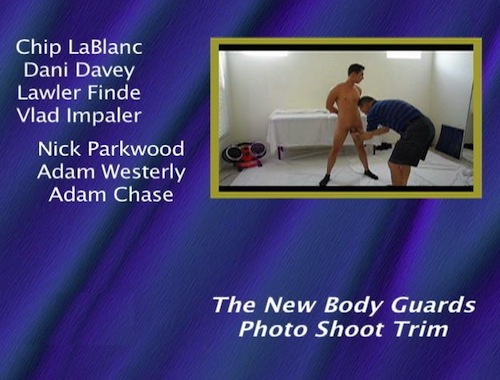 The-New-Body-Guards-Photo-Shoot-Trim-(TLA-Exclusive)-gay-dvd
