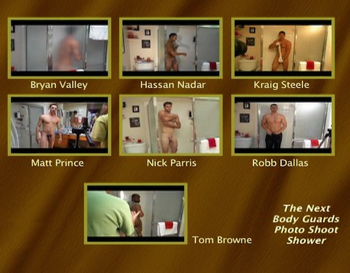 The-Next-Body-Guards-Photo-Shoot-Shower--with-Conversation-gay-dvd